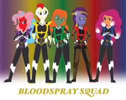 Bloodspray Squadron by miipack603