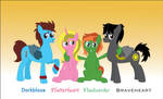 Best Friends - Pony Style by miipack603