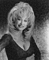 Dolly Parton Photo Mosaic by whendt