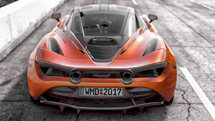 In game photo of the McLaren 720 s in Project CARS by whendt