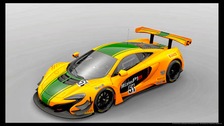 My McLaren 650 s turned into a P1 livery design by whendt