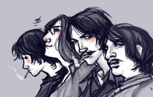 Beatles profiles by lorainesammy