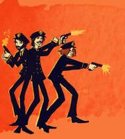 Beatles: Pretty Lil Pleesemen by lorainesammy