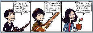 Beatles: Comicstrip 02 by lorainesammy