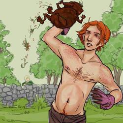 Drawble: Ron Weasley by lorainesammy