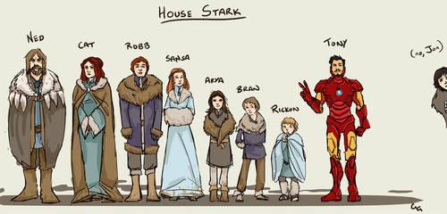 House Stark by lorainesammy