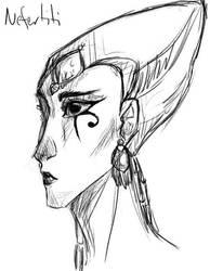 Nefertiti by UchihaKurai0oa