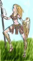 Warrior for Ellie by UchihaKurai0oa