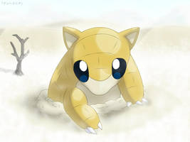 Sandshrew - Arid Sands by roddz-art