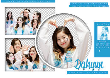 #035 | Pack PNG | Dahyun | Twice by jellycxt