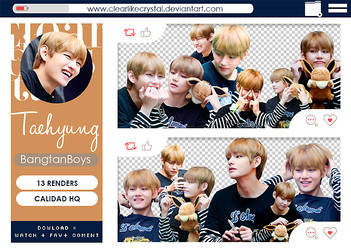 #094 | Pack PNG | V | BTS by jellycxt