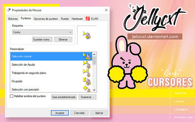 #006 | Cursores |Cooki | BTS by jellycxt