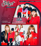 #111 PACK PNG   LISA   BLACKPINK by jellycxt