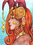 Countenance of a Goddess by Agnethamoon