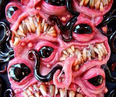 Nightmare Sushi close up by dogzillalives