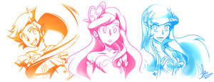 Lolirock! Crystal Princesses by Artic-Blue