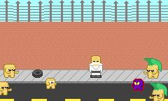 Squareboy vs Bullies fant art version 01 by carmax8901