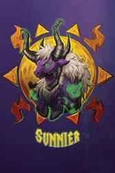 Sunnier -Blizzcon Badge- by royalshark