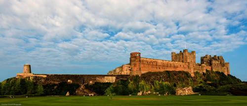 Bebbanburg, home to Northumbrian Kings. by LordLJCornellPhotos