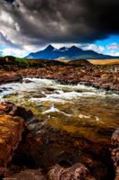 The glistening stones of Skye by LordLJCornellPhotos