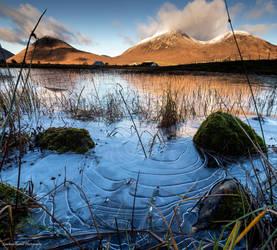 Frozen ripples by LordLJCornellPhotos