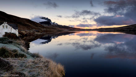 Storr Lochs Lodge by LordLJCornellPhotos