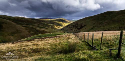 The gentle hills by LordLJCornellPhotos