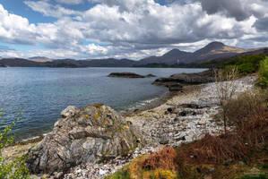 A rugged coast by LordLJCornellPhotos