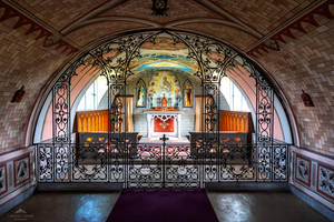 The Italian Chapel interior by LordLJCornellPhotos