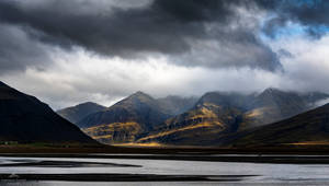 Brooding clouds hang heavy by LordLJCornellPhotos