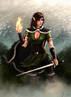 Daughter of Valenwood by kaio89