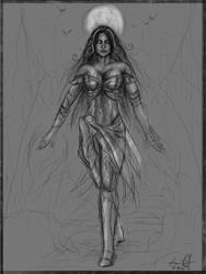 Liliana Vess - Sketch by kaio89