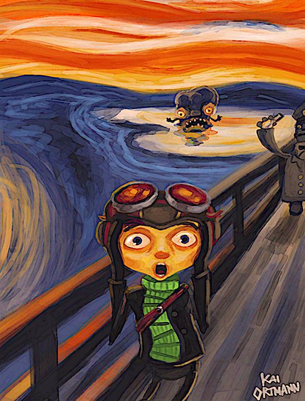 Psychonauts Fan Art by kaio89