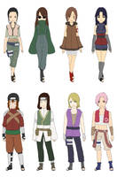 Konoha Clan Adoptables :closed: by kii-wi