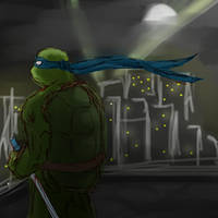 TMNT - Blue Patrol by NinjaTertel