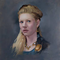 Lagertha by henriquearn