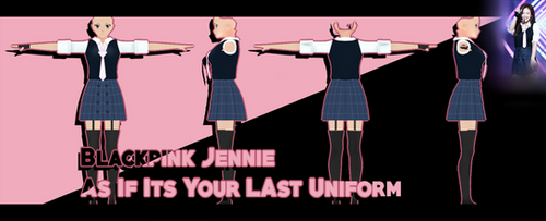 | 3D Model | AIIYL Jennie Uniform | Aoi Base | by Raisuke-Tamakasai