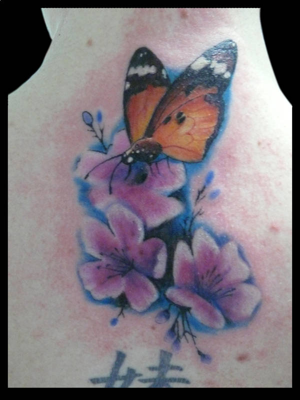 Cherry Blossoms Butterfly By Michaelbrito On Deviantart
