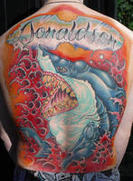 great white back piece by michaelbrito