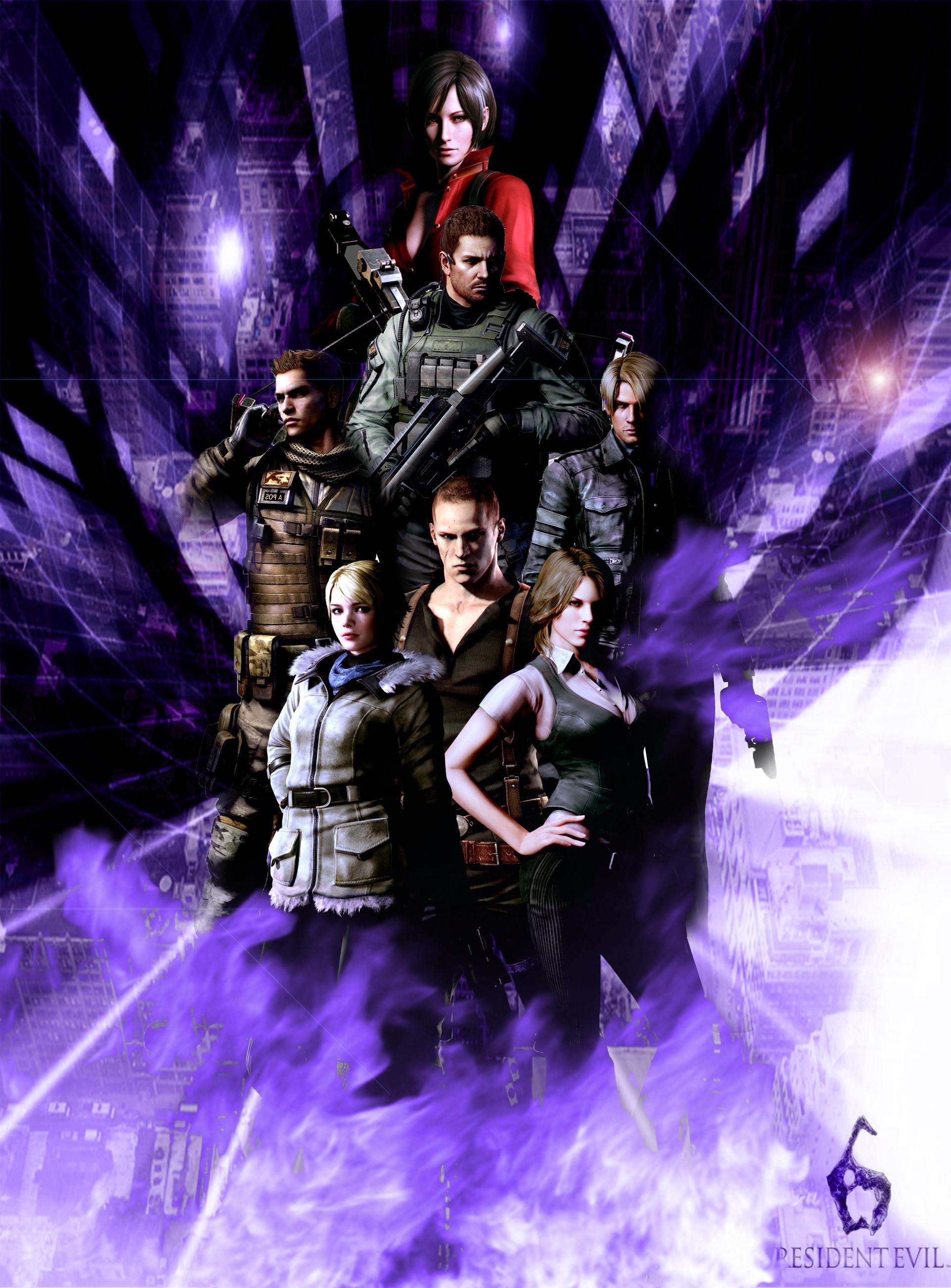 Resident Evil 6 Wallpaper By Germanwallpaper