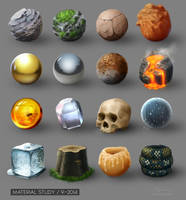 Material Study - Set 01 by artlon