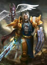Human Warrior - Twift by artlon