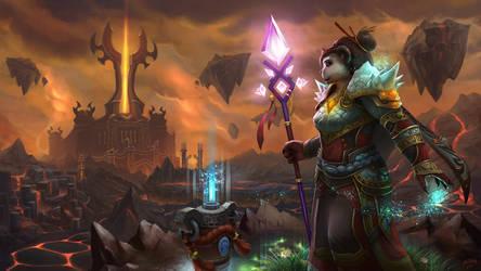 Raid on the Firelands by artlon