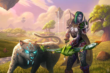 Piscean the Huntress by artlon