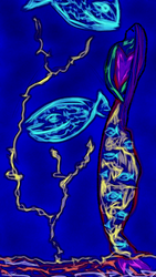 Under the Sea(Original Abstract Digital Art) by starmoon2208