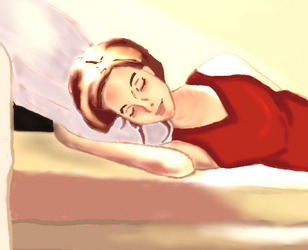 Sleep under the Sunlight ( Reference used,Digital) by starmoon2208