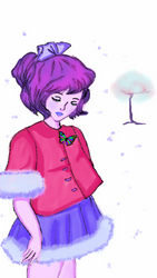 Winter and Butterfly(Digital Original) by starmoon2208