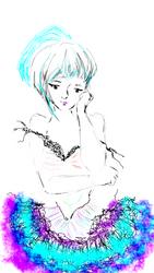 I like my Frills (Digital Original) by starmoon2208