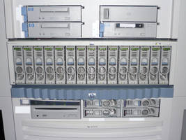 HP server close up by dull-stock