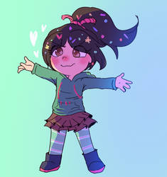 Vanellope by mabill2001